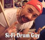 SiFi Drum Guy Simon Fishburn Profile Pic