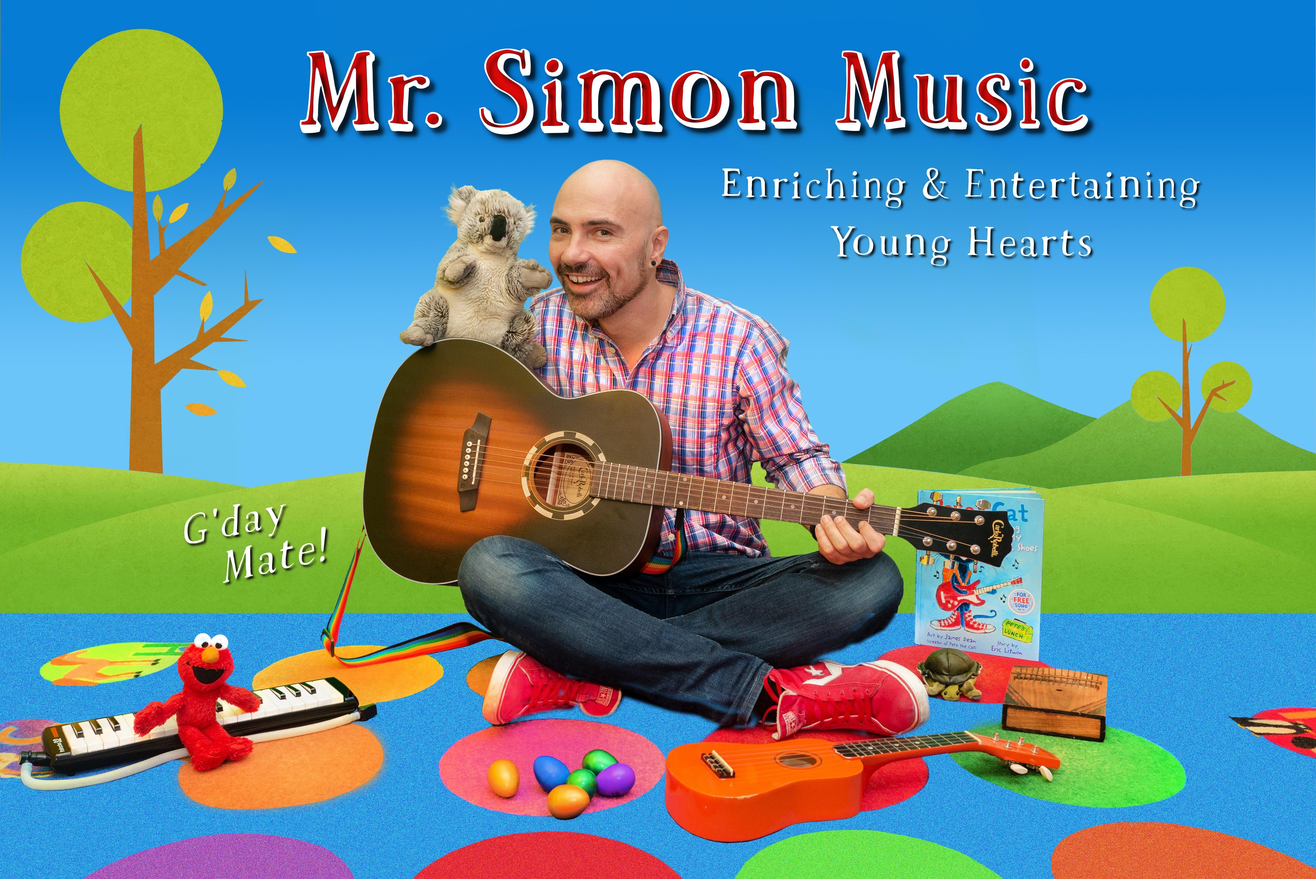 Mr. Simon Music POSTCARD FRONT